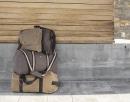 Reisetasche Aus Baumwoll-Canvas, Kimood KI0603 // KM0603