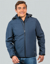 Men´s Hooded Soft-Shell Jacket, HRM 1101 // HRM1101