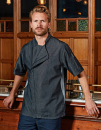 Chefs Zip-Close Short Sleeve Jacket, Premier Workwear...