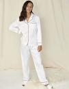 Ladies Satin Long Pyjamas, Towel City TC055 // TC055
