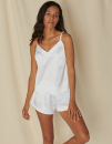 Ladies Satin Cami Short Pyjamas, Towel City TC057 // TC057
