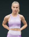 Ladies Seamless Panelled Crop Top, Tombo TL351 // TL351