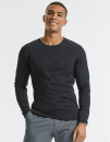 Men´s Pure Organic Long Sleeve Tee, Russell Pure...