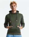 Pure Organic High Collar Hooded Sweat, Russell Pure...