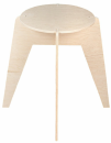 Foldable Puzzle Stool, DreamRoots DRL16 // DRL16