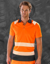 Recycled Safety Polo Shirt, Result Genuine Recycled R501X...
