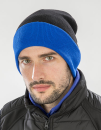 Recycled Black Compass Beanie, Result Genuine Recycled...