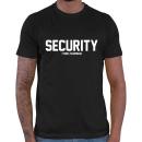 Security - Vorderseite + Rückseite / T-Shirt (...