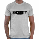 Security - Brust klein + Rückseite / T-Shirt (...